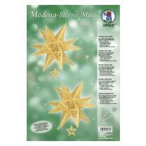 """Ursus Modena - Stern Set Mini """"Dots"""" gold  25..."""