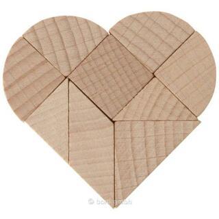 Mini-Puzzle - Das gebrochene Herz