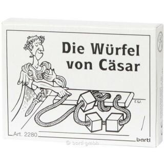 Mini-Puzzle - Die Würfel von Cäsar