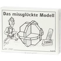 Mini-Puzzle - Das missglückte Modell