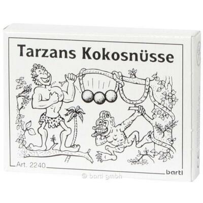 Mini-Puzzle - Tarzans Kokosnüsse