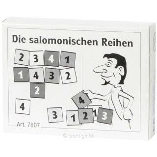 Mini-Puzzle - Die salomonischen Reihen