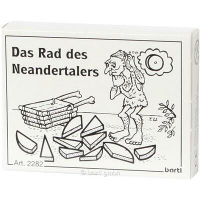 Mini-Puzzle - Das Rad des Neandertalers