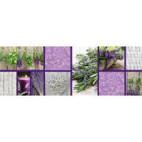 Motiv-Fotokarton Landhaus Lavendel (74), 300 g/m²,...