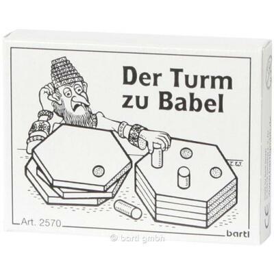 Mini-Puzzle - Der Turm zu Babel