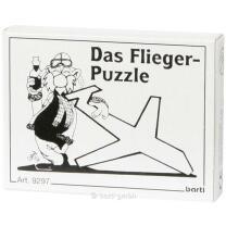 Mini-Puzzle - Das Flieger-Puzzle