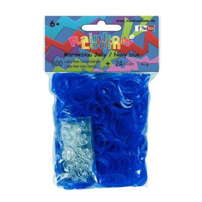 Rainbow Loom® Marineblau Jelly