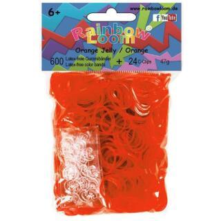 Rainbow Loom® Orange Jelly
