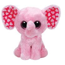 Ty Beanie Boos  Elefant Sugar rosa 15 cm