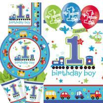 39-teiliges Party-Set 1. Geburtstag Junge birthday boy...