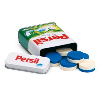 Erzi 21201 Waschmittel Persil in der Dose, Spielzeug-Waschmittel, Kaufladenzubehör