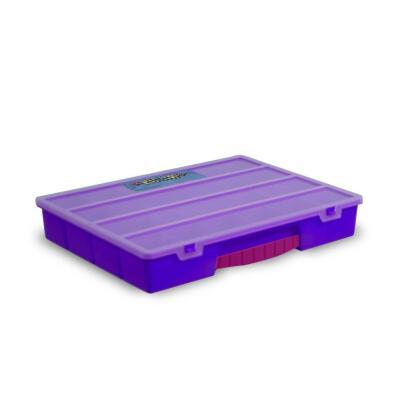 Rainbow Loom® - Sortierbox lila Organizer