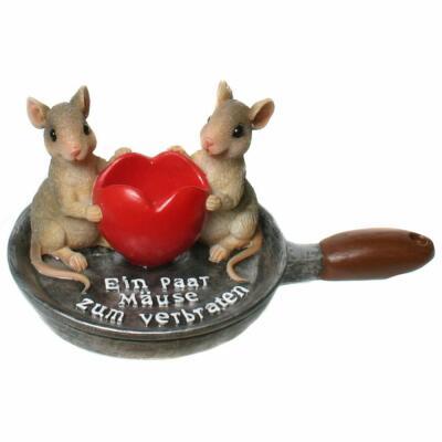Bratpfanne - Mäuse zum Verbraten - Verpacken von Geldgeschenk