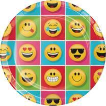 33-teiliges Party-Set Emojions - Teller Becher Servietten...