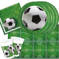 37-teiliges Party-Set Fußball Party - Teller Becher...