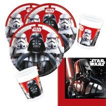 36-teiliges Party-Set Star Wars Final Battle - Teller...