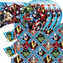 37-teiliges Party-Set MARVEL Mighty Avengers - Teller...