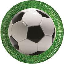 36-teiliges Party-Set Fußball Party - Teller Becher...