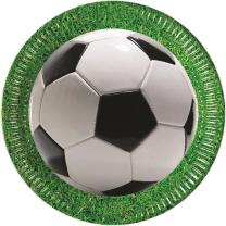 52-teiliges Party-Set Fußball Party - Teller Becher...