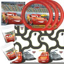37-teiliges Disney PIXAR Party-Set Cars 3 - Teller Becher...