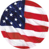 48-teiliges Party-Set USA - Amerikanische Flagge - Teller...