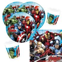 36-teiliges Party-Set MARVEL Mighty Avengers - Teller...
