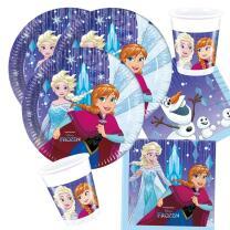 36-teiliges Party-Set Frozen die Eiskönigin -...