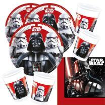 52-teiliges Party-Set Star Wars Final Battle - Teller...