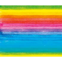 Motiv-Fotokarton Regenbogen (113), 300 g/m²,  49,5cm...
