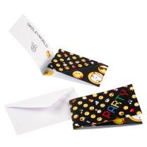 Smiley Emoticons - Einladungskarten mit Umschlag, 8...