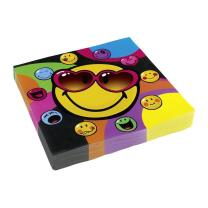 Smiley Express Yourself - 20 Servietten 33 x 33 cm