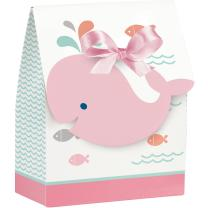 Baby Party Baby shower -  Kleiner Wal rosa -  12...