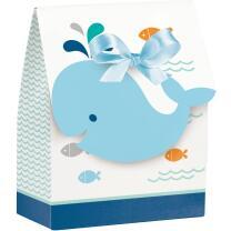 Baby Party Baby shower -  Kleiner Wal blau -  12...