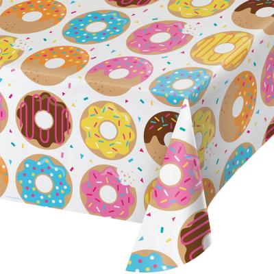 Donut Party - Tischdecke 137 x 259 cm