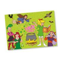 Bibi Blocksberg Party - Platzsets, 6 Stück 38 x 27 cm