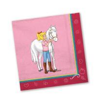 Bibi und Tina Party - Servietten, 20 Stück 33 x 33 cm