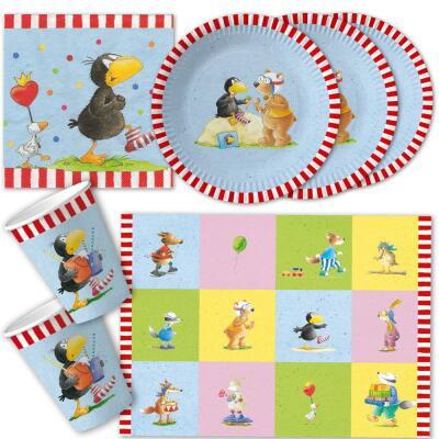 Der kleine rabe socke for Kinder party set