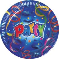 36-teiliges Party-Set Party Streamers  - Teller Becher...