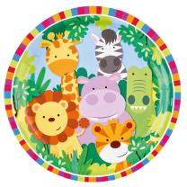 52-teiliges Party-Set Tiere - Dschungel - Jungle  -...