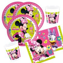 36-teiliges Party-Set Minnie Mouse - Minnie Happy Helpers...