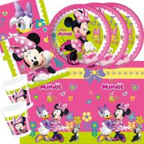 37-teiliges Party-Set Minnie Mouse - Minnie Happy Helpers...