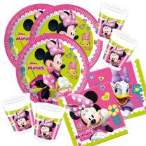 52-teiliges Party-Set Minnie Mouse - Minnie Happy Helpers...