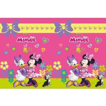 Tischdecke 120 x 180 cm -  Minnie Mouse - Minnie Happy...