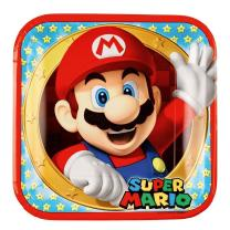 52-teiliges Party-Set Super Mario - Teller Becher...
