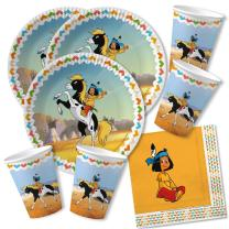 52-teiliges Party-Set - Indianer Yakari - Teller Becher...