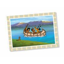 Indianer Yakari Party - Platzsets, 6 Stück 38 x 27 cm