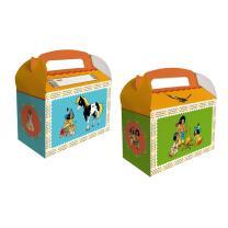 Indianer Yakari  Party - Geschenkebox für Mitgebsel,...