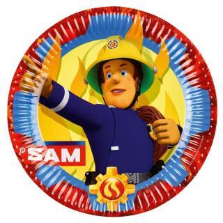 52-teiliges Party-Set Feuerwehrmann Sam - Teller, Becher, Servietten  für 16  Kinder - Neues Design 2017