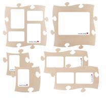 6 PUZZLES+ Rahmen * Set * Puzzle Bilderrahmen  * Country...