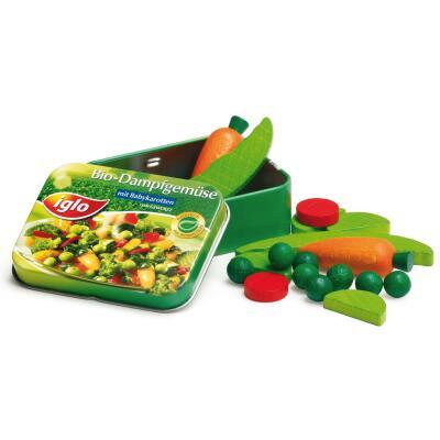 Erzi 18441 Gemüse von Iglo in der Dose Kaufladenzubehör